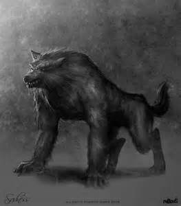 Monster Mash round 1 Werewolf vs. Yeti | CarlAlves.com