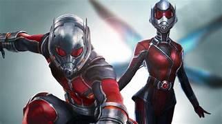 Ant Man and Wasp